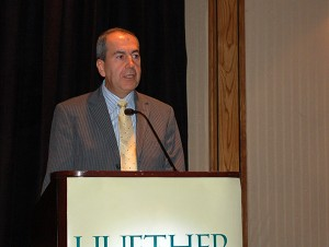 Brother Jorge delivered a keynote address at the 2012 Huether Lasallian Conference.
