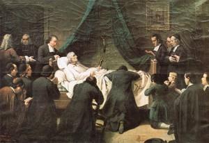 Death of St. John Baptist de La Salle