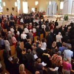 Mass before the gala