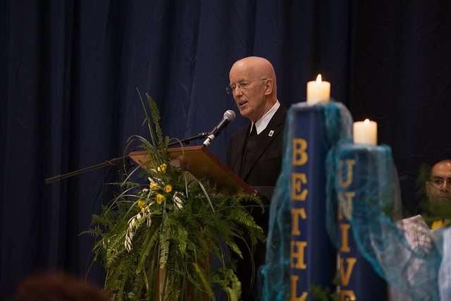 Vice Chancellor Brother Peter Bray