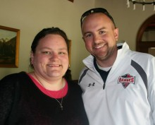 Jolleen Wagner and Chris Swain