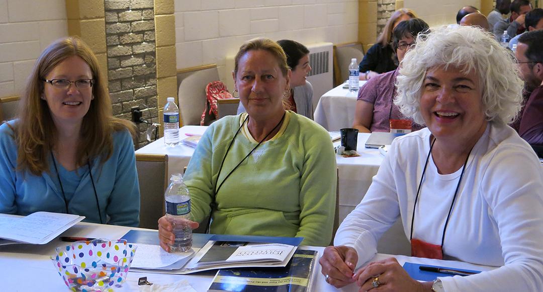 Renee Giesemann, Deb McCurdy and Nancy Orr