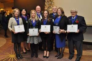 2015 Distinguished Lasallian Educator award recipients