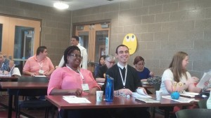 Kenenna Amuzie and Brother Chris Patino, FSC. courtesy of the National Religious Vocation Conference.