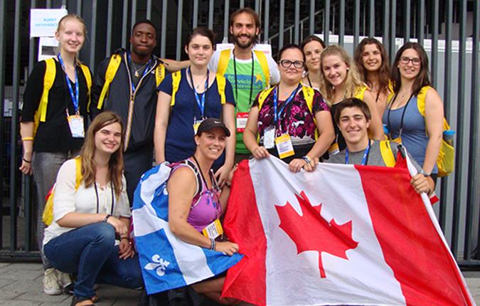 Lasallians Gather at World Youth Day