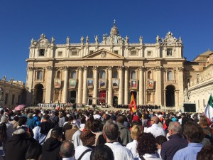 Maryann Donohue-Lynch shares her view of the canonization. Courtesy Maryann Donohue-Lynch