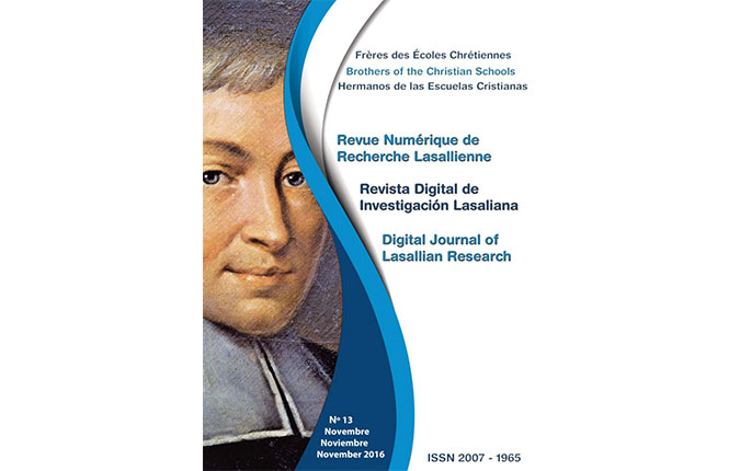 New Digital Journal of Lasallian Research Available