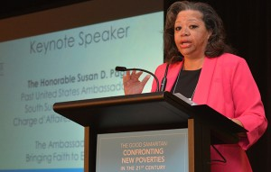 The Honorable Susan D. Page delivers Saturday keynote address.