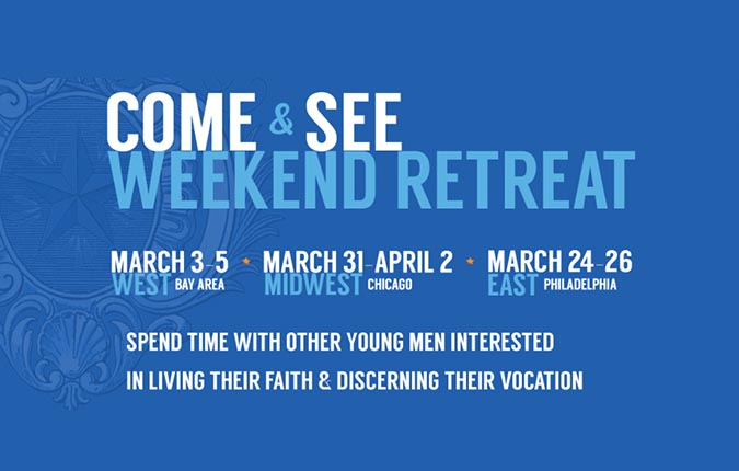 Brothers To Host Spring Discernment Retreats