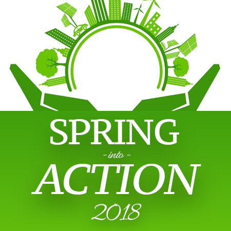 Spring into Action Button